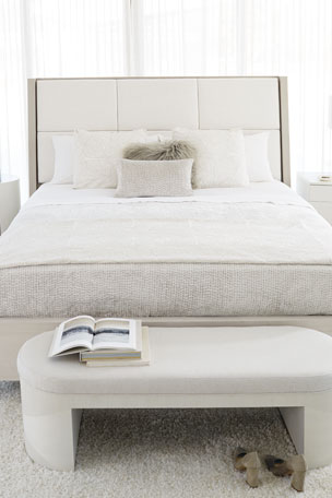 Bernhardt Axiom Quilted Panel King Bed