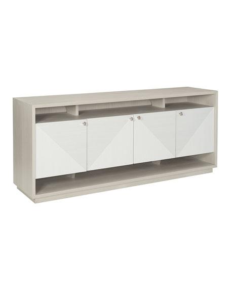 Bernhardt Axiom Entertainment Console Cabinet TV Stand