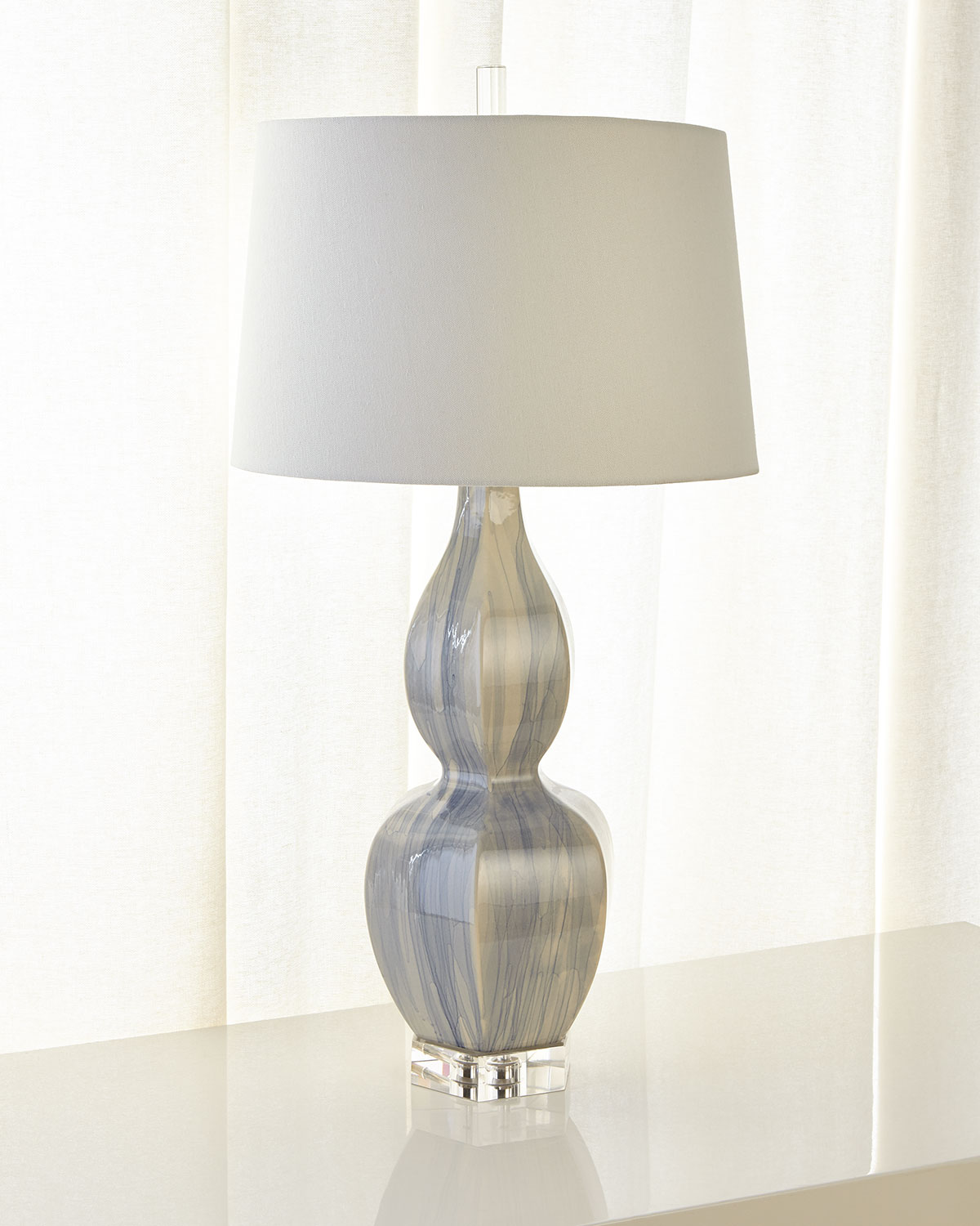 John-Richard Collection Ceramic Urn Table Lamp