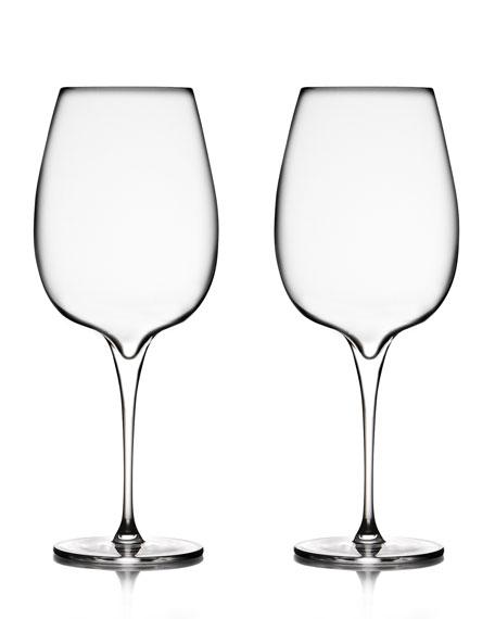 Nambe Vie Cabernet Glasses, Set of 2