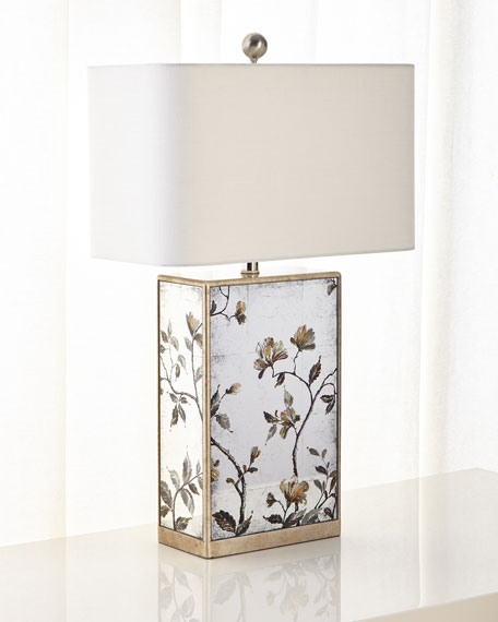 John-Richard Collection Eglomise Table Lamp