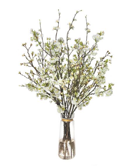 Diane James Mixed Blossom Branches Floral Arrangement