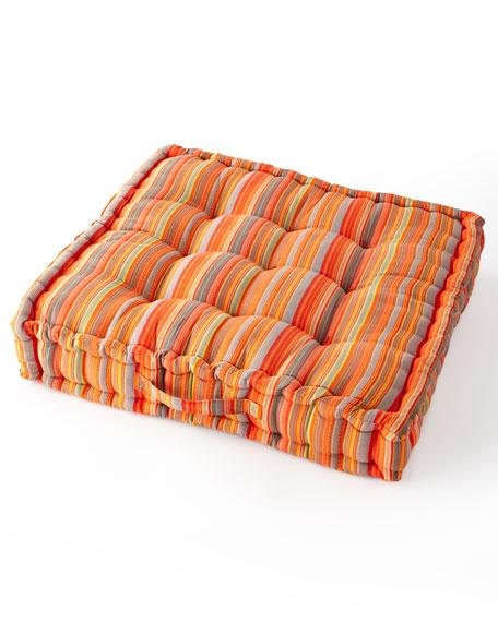 MacKenzie-Childs Boheme Mini Stripe Floor Cushion