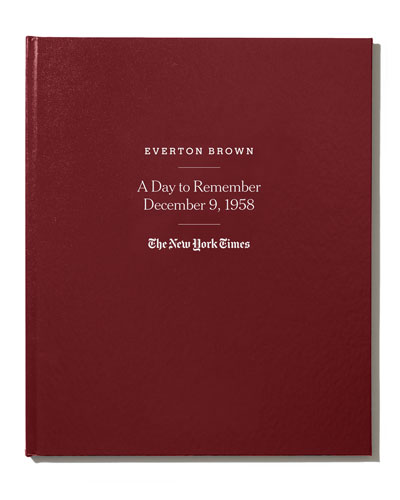 NYT Special Day Book