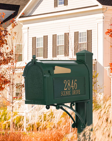 Ultimate Mailbox Package, Green