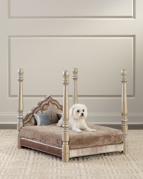 Image 1 of 3: Haute House Jaiga Poster Pet Bed