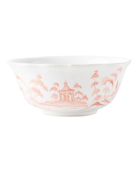 Juliska Country Estate Petal Pink Cereal Bowl