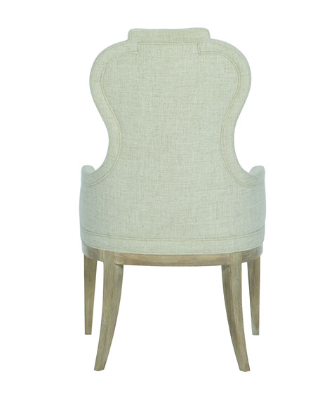 Bernhardt Santa Barbara Notched Arm Chairs, Set of 2