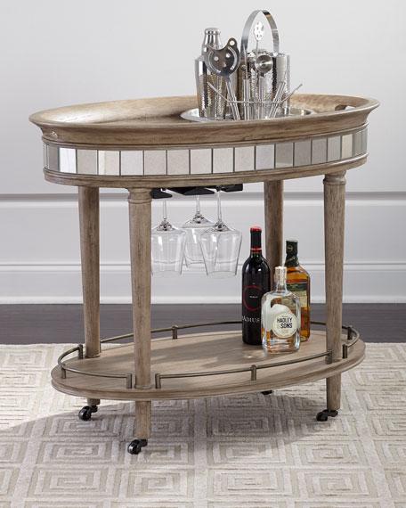 Alisa Bar Cart