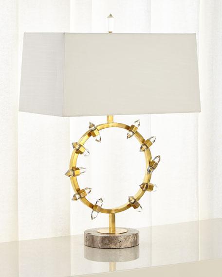 John-Richard Collection Crystal Wand Table Lamp