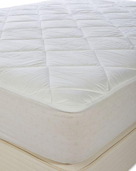 Royal-Pedic Luxury All Cotton Mattress Pad - Queen