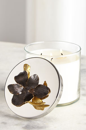 Michael Aram Black Iris Candle