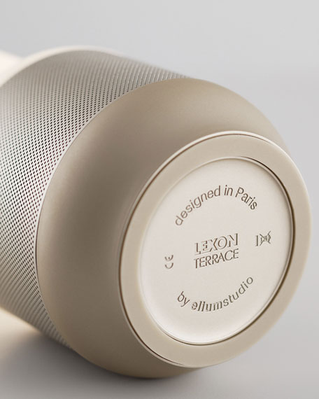 Lexon Design Terrace LED Lantern - Bluetooth Speaker & Power Bank