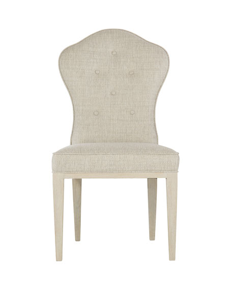 Bernhardt East Hampton Button Tufted Side Chairs, Set of 2