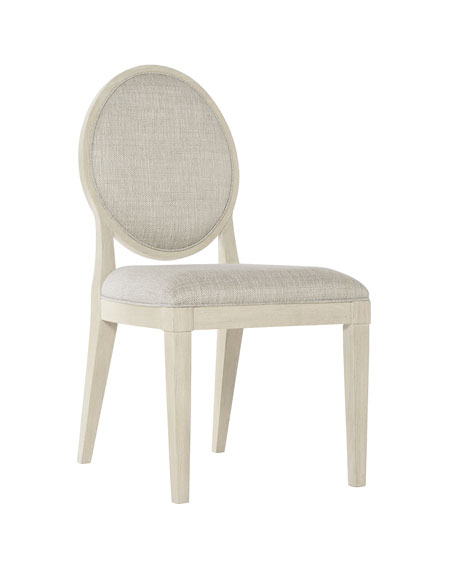 Bernhardt East Hampton Oval Back Side Chairs, Set of 2
