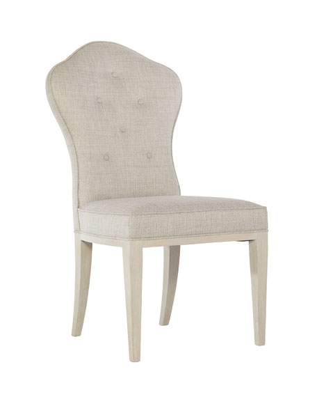 Bernhardt East Hampton Button Tufted Side Chair