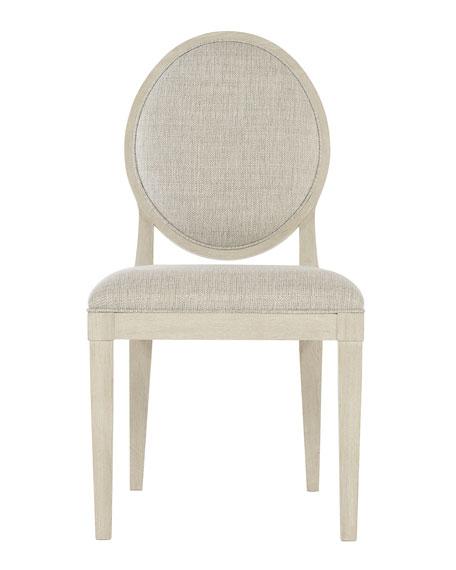Bernhardt East Hampton Oval Back Side Chair