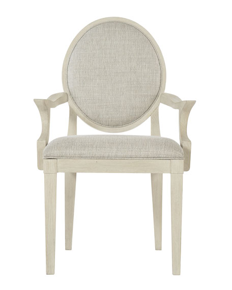 Bernhardt East Hampton Oval Back Arm Chair