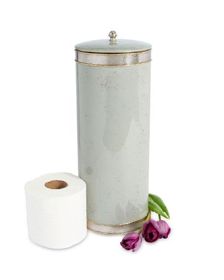 Julia Knight Cascade Toilet Tissue Covered Holder