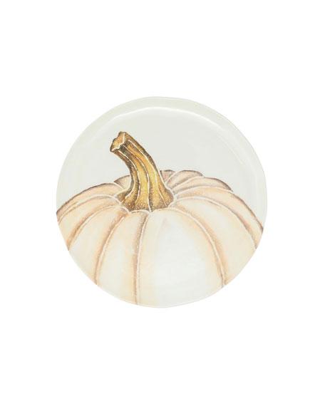 Vietri Pumpkins Assorted Salad Plates, Set of 4