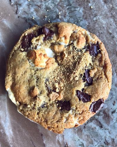 Vegan Ooey Gooey S'mores Cookies  8-Pack