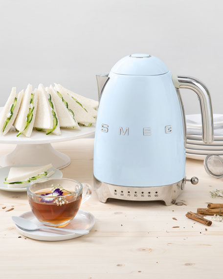 Image 3 of 5: Smeg Retro Variable Temperature Kettle