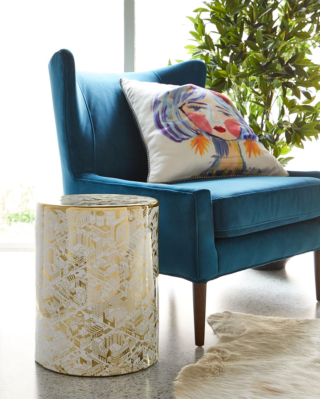 Global Views Abba Decorative Pillow   Neiman Marcus