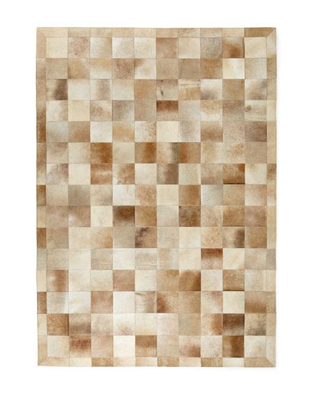 Exquisite Rugs Winslow Hide Blocks Rug, 5' x 8'