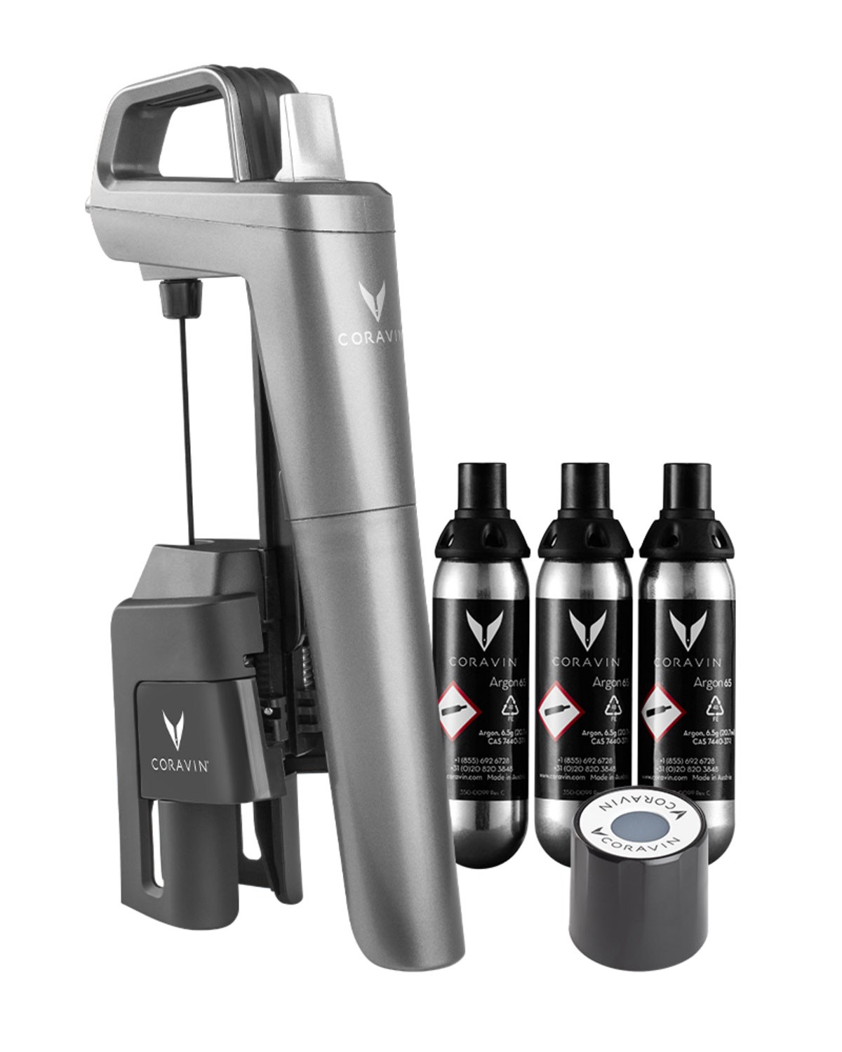 Coravin Five Wine Preservation System - Graphite Model