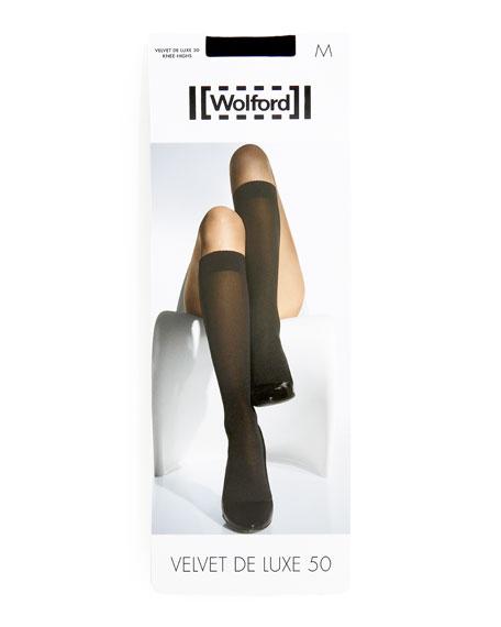 Velvet de Luxe 50 Denier Knee-High Socks