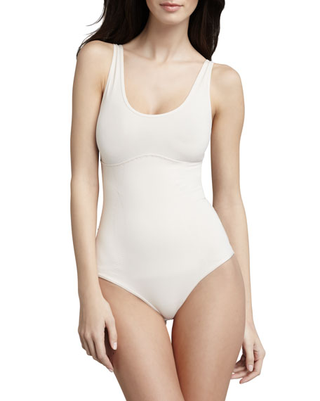 Spoil Me Cotton Tank Bodysuit, Shell