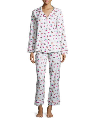 Multi-Print Classic Pajama Set