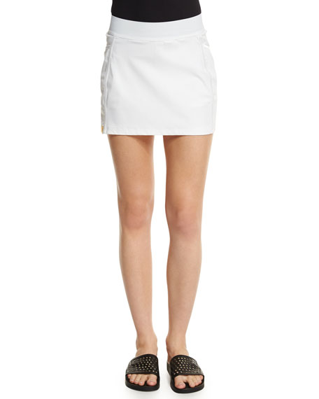 Monreal London Back Flip Sport Skirt, White