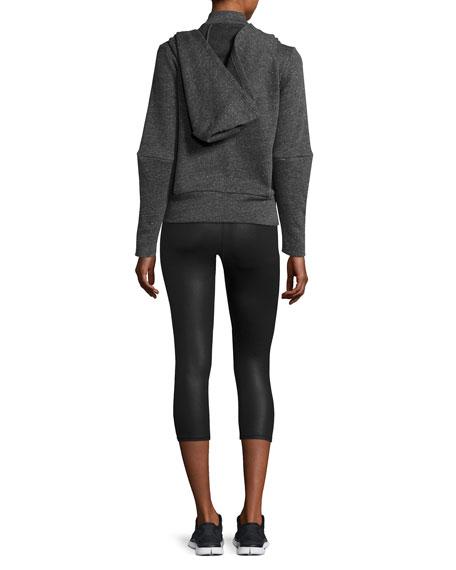 Alo Yoga High-Waist Airbrush Capri Leggings