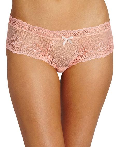 Eberjey Colette Lace Boy-Leg Thong