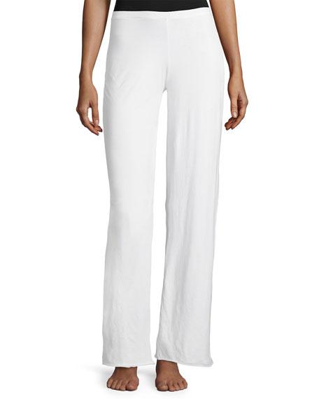 Double-Layer Cotton Lounge Pants