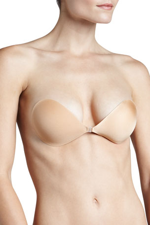 Fashion Forms NuBra Ultra Lite Adhesive Demi Bra, Nude