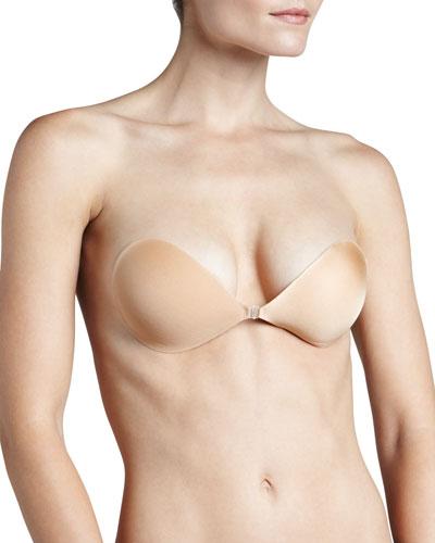NuBra Ultra Lite Adhesive Demi Bra  Nude