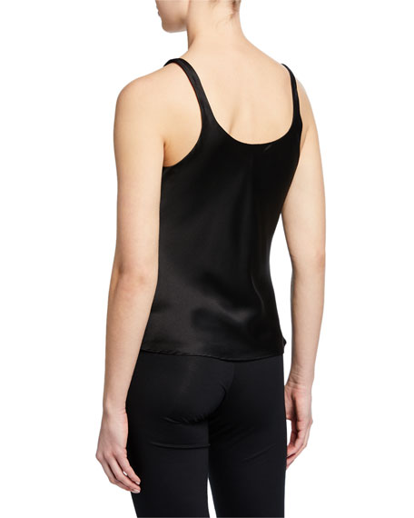 Silk Camisole, Black