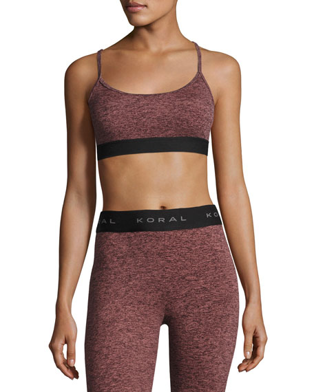 Sweeper Versatility Performance Sports Bra, Multicolor and