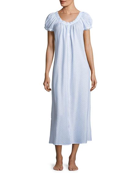 Undine Short-Sleeve Nightgown