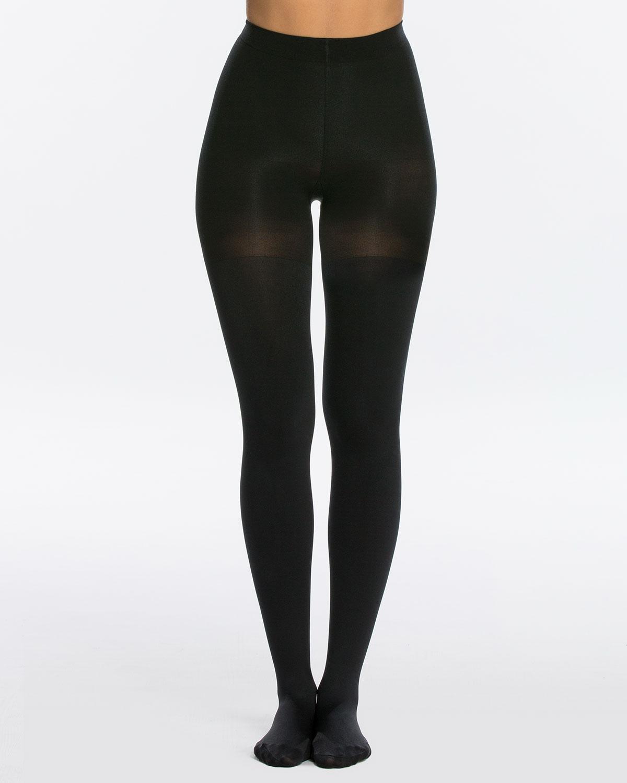 5e237c36d9883 Spanx Luxe Leg Blackout Opaque Tights, Size E | Neiman Marcus