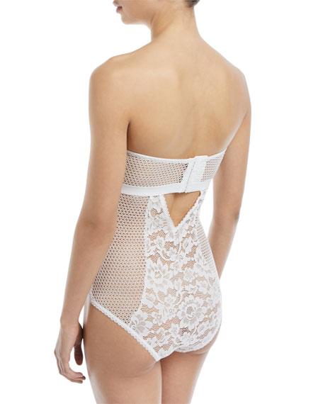 Petunia Strapless Corset Bodysuit