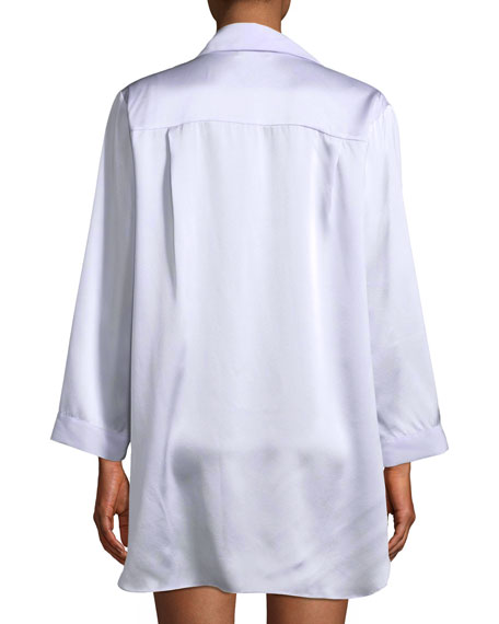 Garbo Silk Sleepshirt