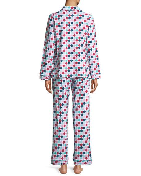 Candy Dot Classic Pajama Set