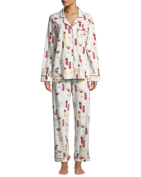 Bedhead HOLIDAY COCKTAILS CLASSIC PAJAMA SET