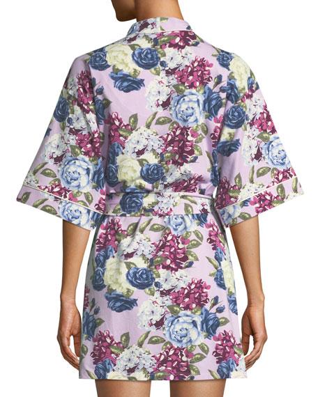 BedHead Pajamas Floral Jewels Short Robe