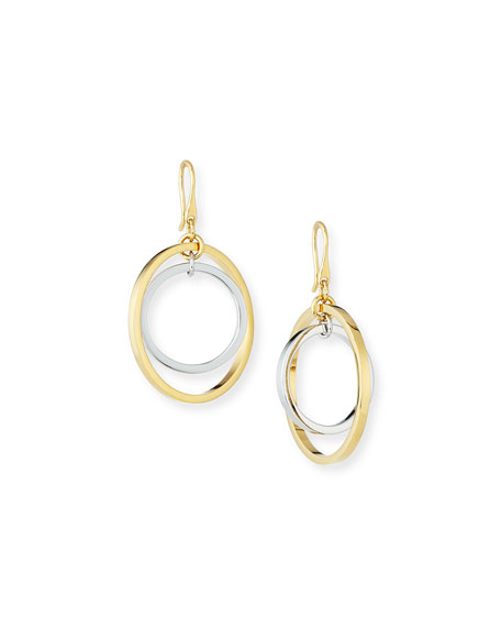 Lele Sadoughi Golden Orbit Drop Earrings