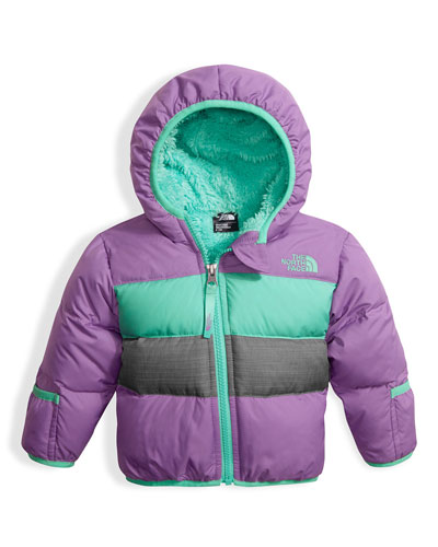 Girls' Moondoggy 2.0 Down Quilted Jacket, Purple, Size 3-24 Months