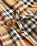 Burberry Mini Crissida Long-Sleeve Check Dress, Size 6 Months-3